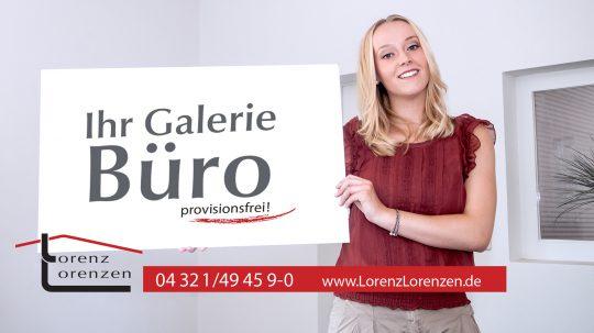 Plakatwerbung Holstengalerie Neumünster/ Lorenz Lorenzen Immobilien