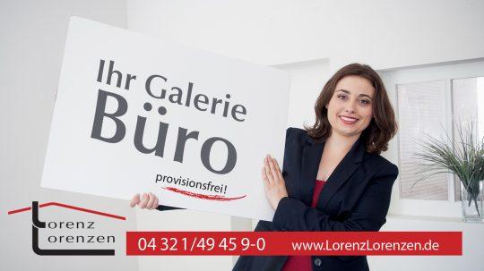 Werbeplakate Holtengalerie Neumünster/ Apel & Lorenzen Immobilien ehemals Lorenz Lorenzen Immobilien