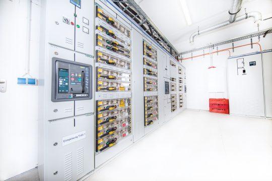 Technik Raum Holstenhallen Neumünster
