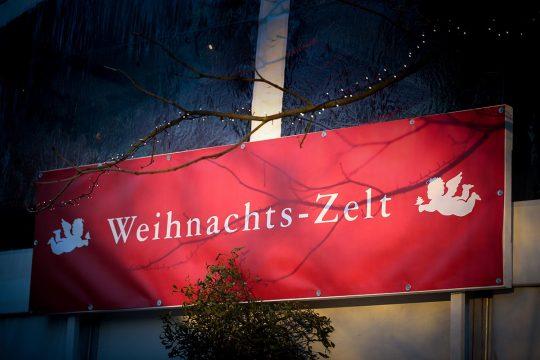 Weihnachtszelt Gut Stocksee Hof