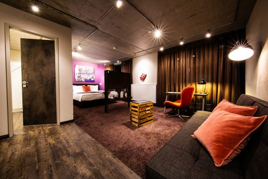 Hotel Altes Stahlwerk / Interior Fotografie
